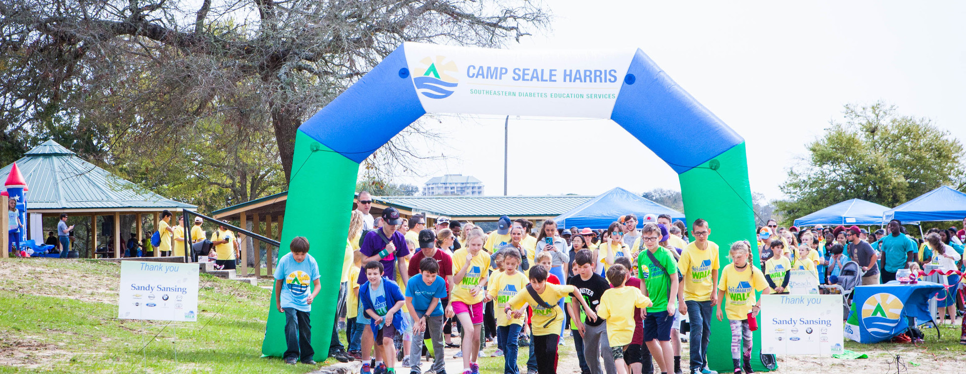 Pensacola Diabetes WALK for Camp Seale Harris